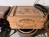 Vintage Borden's Condensed Milk Co. Box