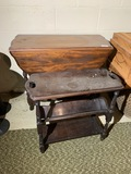Two vintage furniture pieces