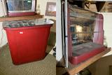 Vintage Bar and Bar Mirror