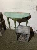 Antique Borden's Milk Crate PLUS
