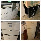 Scrap metal lot - file cabinets