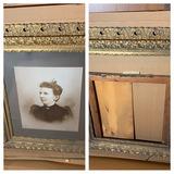 2 Huge antique frames