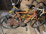 VIntage Orange 10 Speed Bicycle