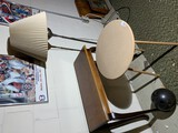 Side table, lamp table, floor lamp, bowling ball