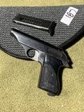 Vintage Italian Semi Auto Pistol