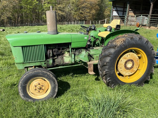 John Deere Tractor, Manure Spreader and more