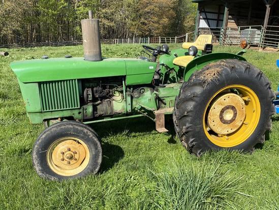 Vintage 1968 John Deere 820 Tractor