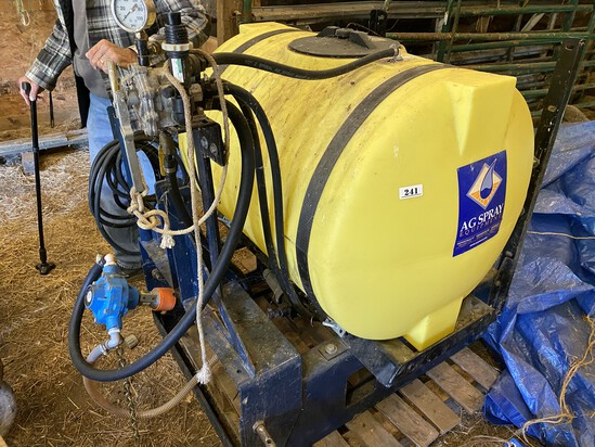 Ag Spray Boomless Sprayer Unit