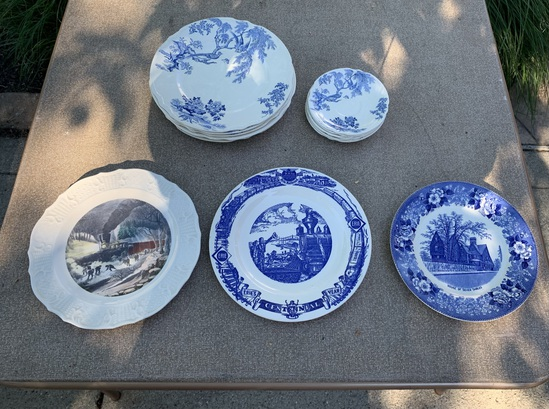 Assortment of Plates.  See Photos.