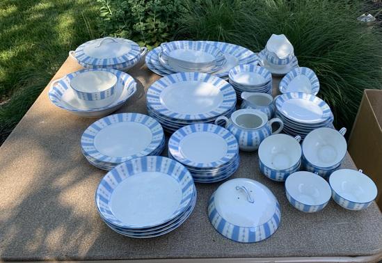 """Beautiful Noritake """"The Yale"""" Pattern Dishes"""