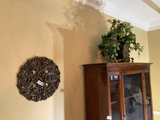 Decorative vase and wall hanging