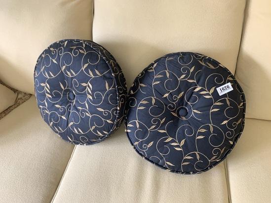 Pair of Custom Made decorative pillows