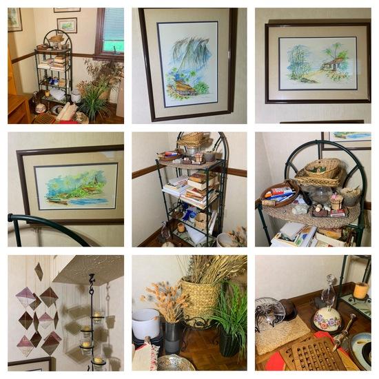 Baker Rack, Decor, Framed Art, Ceramics & More