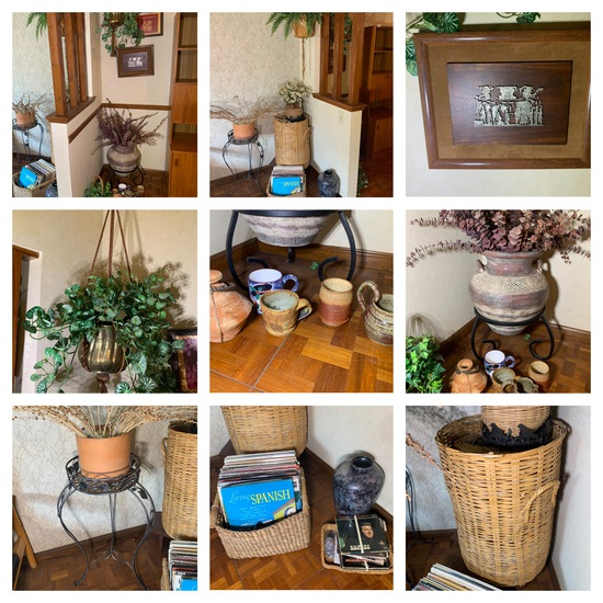 Group of Plant Stands, Wicker, Art & More
