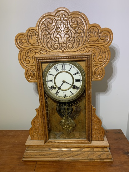 Gingerbread Mantel Clock