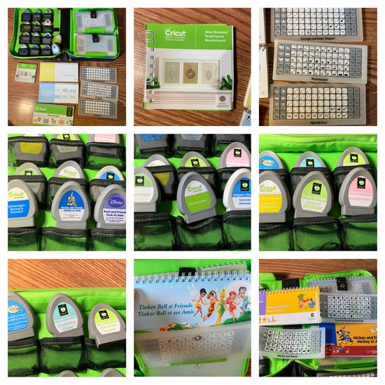 Cricut Accessories.  See Photos.  Great Selection