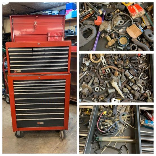 Craftsman Tool box & Contents.  See Photos.