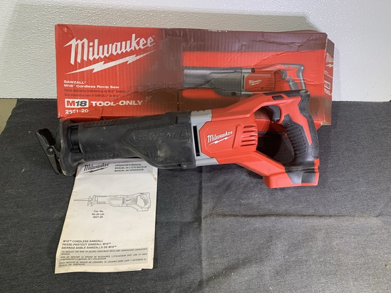 Milwaukee Sawzall Reciprocating Saw