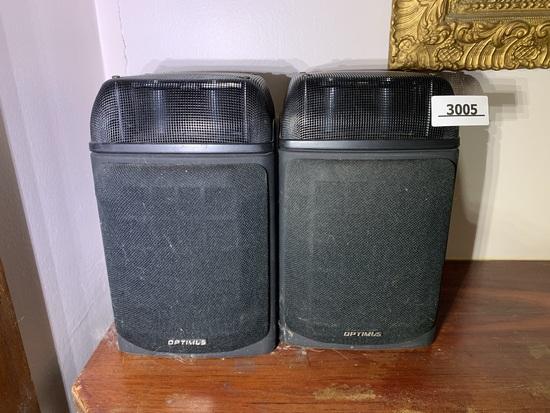 Pair of Optimus Speakers