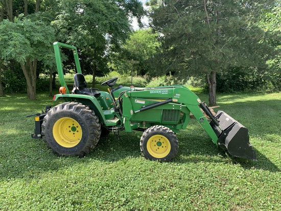 John Deere Model 790 Tractor w/191 Hours Front End Loader Quick Connect