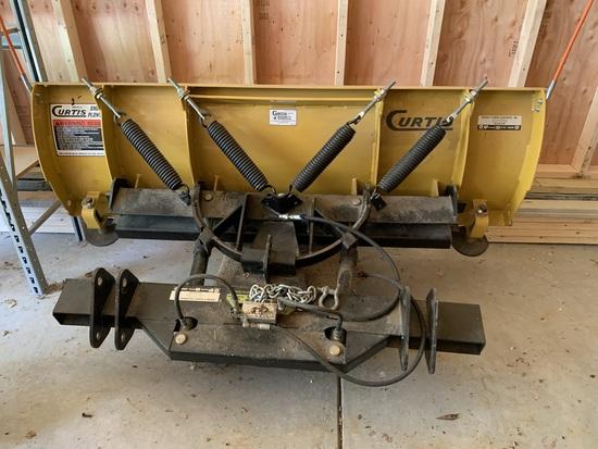 Curtis Industries Hitch N Run Snow Plow Unit
