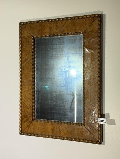 Antique Mirror with elaborate frame
