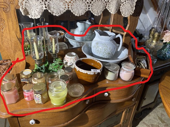 Group lot of vintage and decorative items