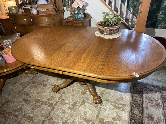 Large Vintage Antique Type Dining room table