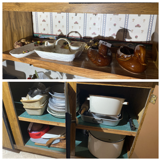 Hall Brown Drip, Enamel wares and more lot