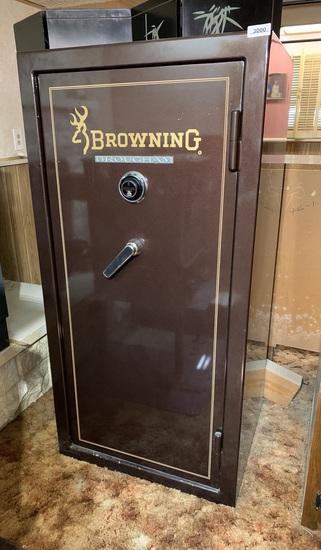 Browning Brougham Gun Safe.  Has Combination.
