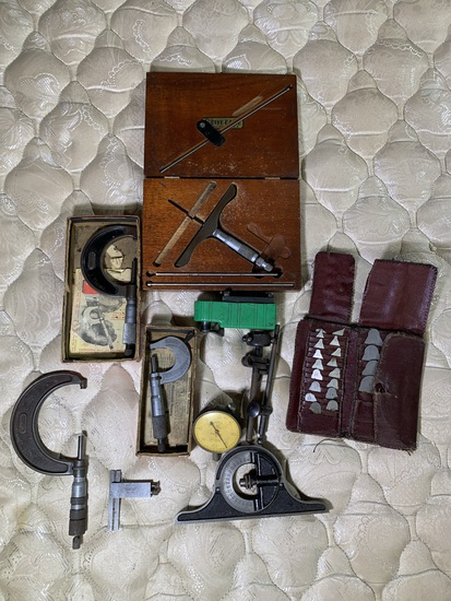 Group of Machinist Tools