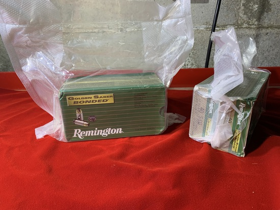 4 Boxes of Remington Golden Saber Bonded 40 S&W 165 Grain Ammunition