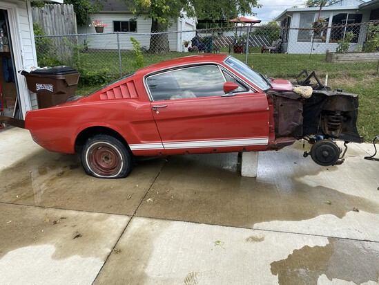 1965 Ford Mustang Fastback Project Car
