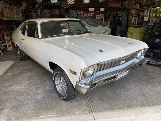 1968 Chevy Nova SS Rolling Chassis