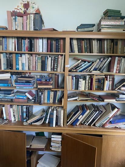 Large lot of antique, vintage books