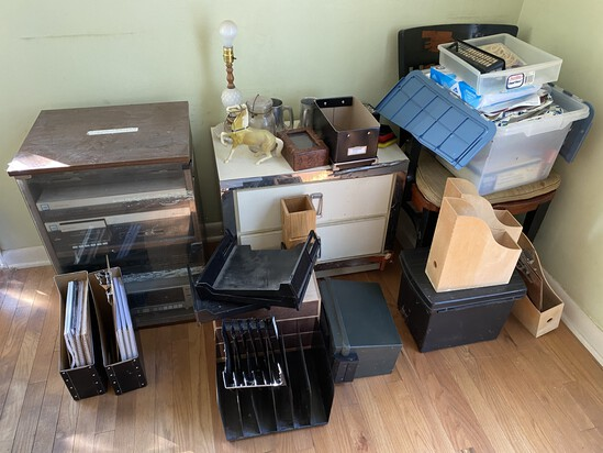 Misc. items in side office