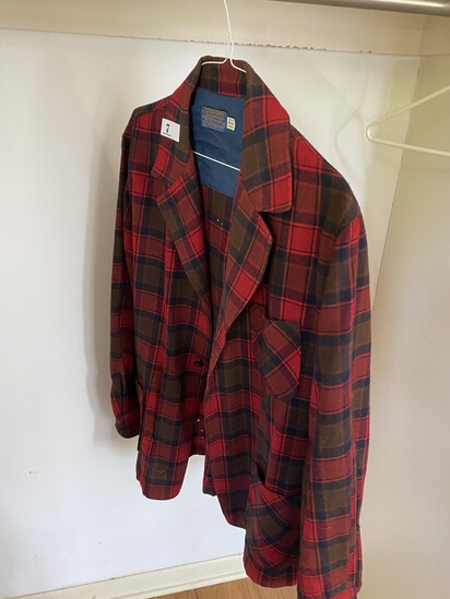 Vintage Pendleton Wool Hunting Shirt