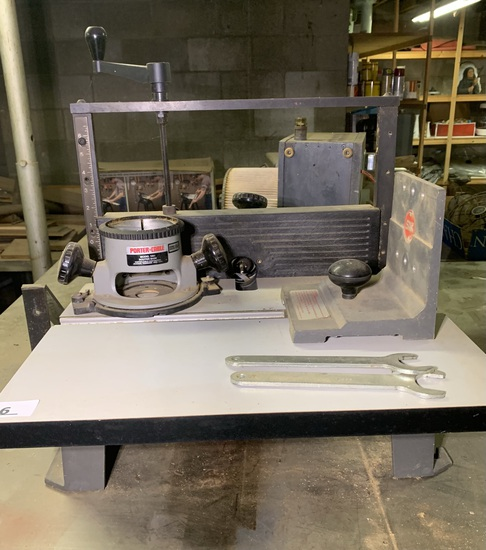 Shopsmith Joint-Matic Model 555605 Router Table & Porter Cable Router
