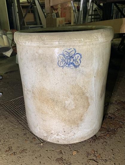 12 Gallon Stoneware Crock