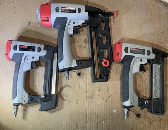 3 Craftsman Nailers / Staplers.  See Photos for Models