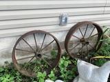 2 Iron Wheels