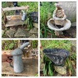 Watering Can, Coal Bucket, Fountain & More