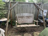 A Frame Rustic Swing