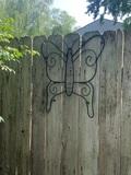 2 Decorative Metal Butterflies