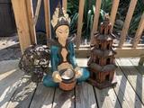 Statue, Pagoda & More