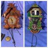 2 Cuckoo Clocks