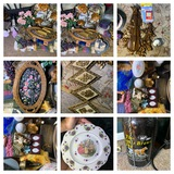 Decorative Wall Hangings, Clock, Easter Items & More