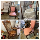 Parlor Chair,  Rocking Chair, Bridal Doll, Show Case, & More