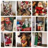 Great Group of Christmas Decorations.  See Photos.