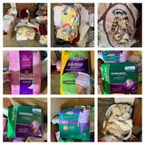 Group of Linens, Blankets, Adult Diapers & More